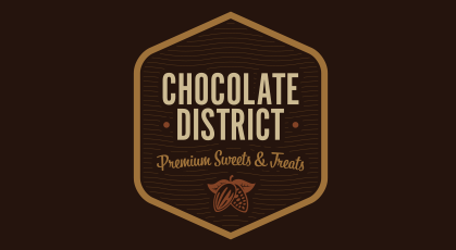 CHOCOLATE DISTRICT Mobile Logo